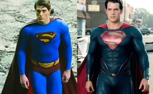 Superman Routh vs Cavill