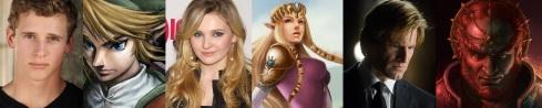Link, Zelda, Ganon fantasycast