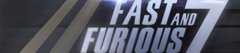 Fast and Furious 7 banner