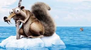 Ice Age Scrat banner