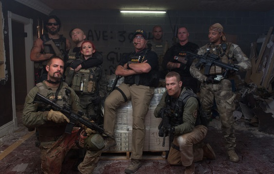 Sabotage Movie Cast