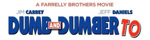 Dumb & Dumber To banner
