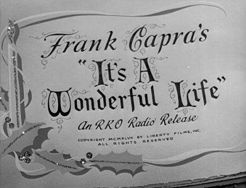 #1 It's a Wonderful Life