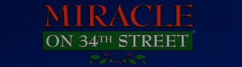 #3 Miracle on 34th Street