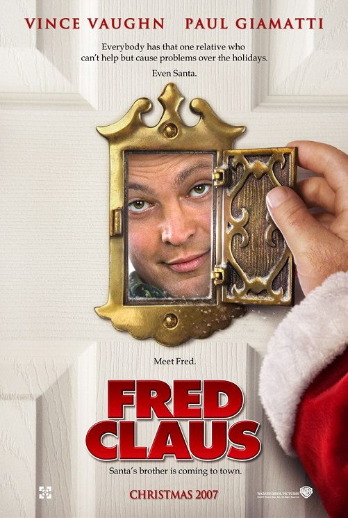 fred claus poster - Vince Vaughn Christmas Movie