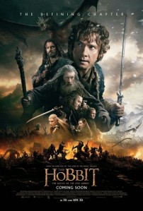 The Hobbit Battle of the Five Armies poster