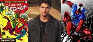 Amazing Spider-Man Robbie Amell Scarlet Spider