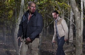 Shane and Rick - Forest ambush