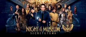Night at the Museum 3 cast Banner