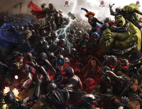 Age of Ultron ComicCon posters
