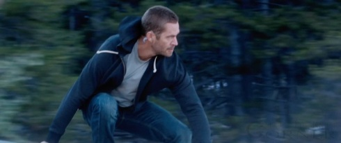 Furious 7 Paul Walker action shot