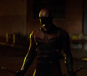 Daredevil red-isch suit