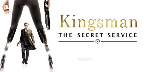 Kingsman white banner