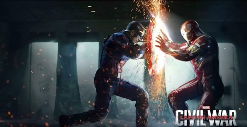 Cap vs Iron Man